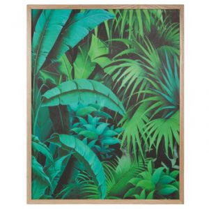 Cuadro de madera 67x 85cm INTO THE JUNGLE. (44,99 €)