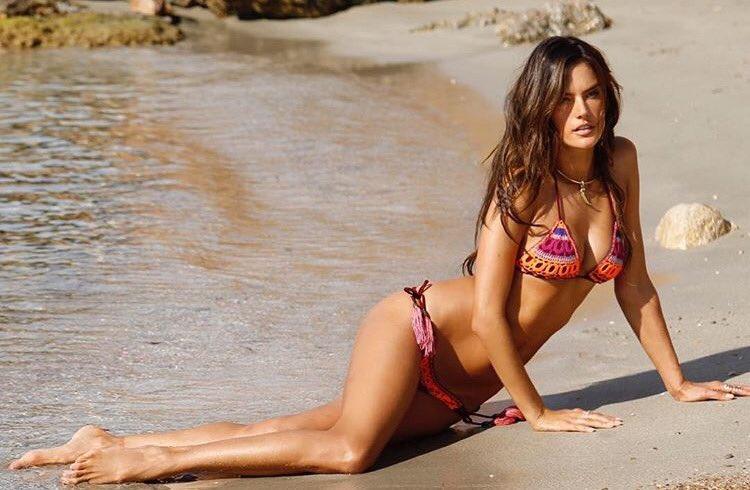 Alessandra Ambrosio tiene un 'entrenador de culo'