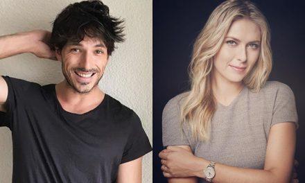 Andrés Velencoso y Maria Sharapova… ¿La pareja del momento?
