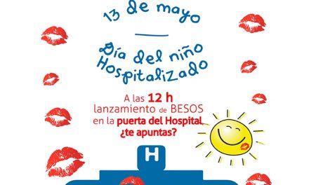 Besos solidarios para niños hospitalizados