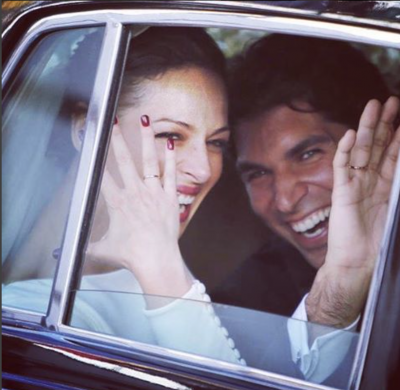 Eva Gonzalez y Cayetano Rivera boda