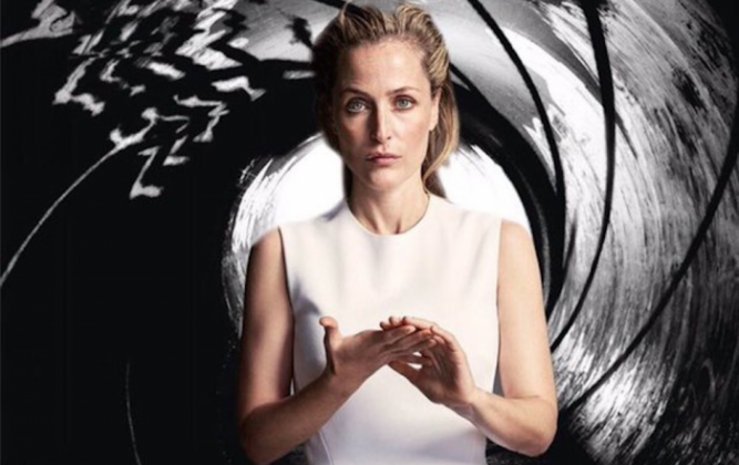 Gillian Anderson podría ser Bond, Jane Bond