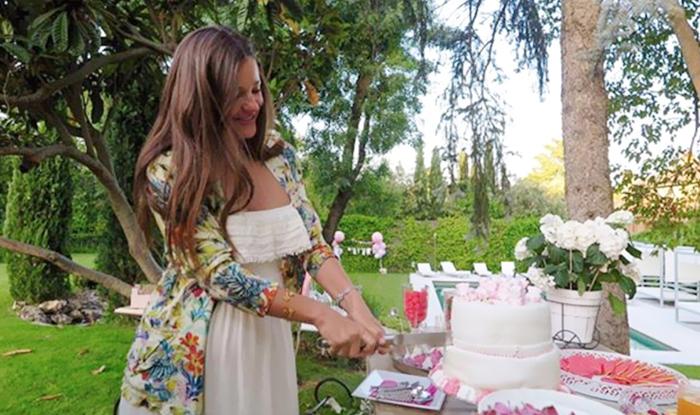 Malena Costa organiza una fiesta a su pequeña 'M'