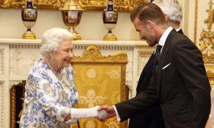 David Beckham, la mano derecha de 'Su Graciosa Majestad'