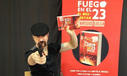 """Fuego en el 23: El despertar"", para amantes de la novela negra"