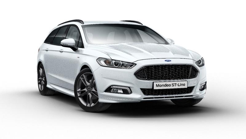 Ford lanza un nuevo deportivo, el Mondeo ST-Line