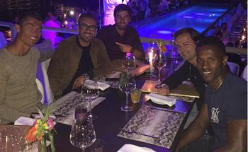 Ronaldo cena Ibiza