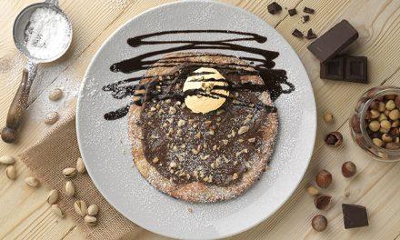 Pizzeta con Nutella & Gelato de Ginos ¡te encantará!