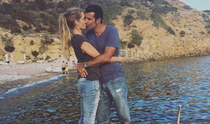 Luis Figo y Helen Swedin celebran en Ibiza sus 20 años de amor