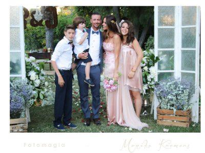 Guti y Romina boda