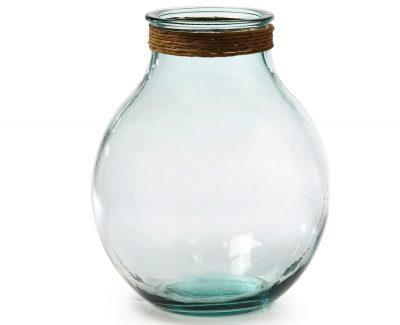 Jarron-de-vidrio-reciclado-Palmer-36-cm