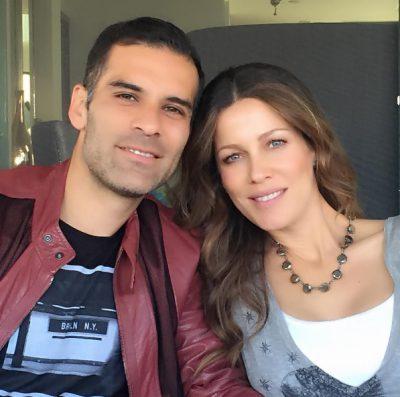 Jaydy y Rafa Marquez
