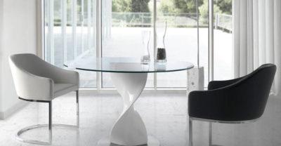 Muebles-Mesa-de-Comedor-Redonda-Cristal-Base-Blanca-Ontario-1