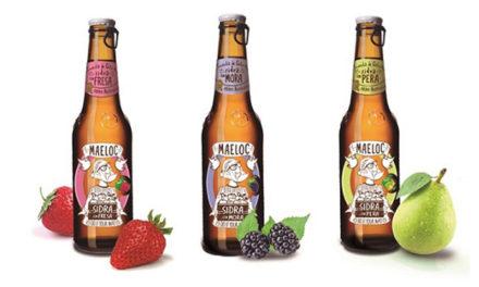 Refréscate este verano con las sidras de sabores Maeloc