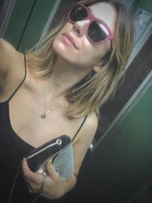 Blanca Suarez pelo liso