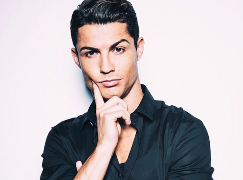 Cristiano Ronaldo y Desiré Cordero, pareja por Internet