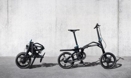 La bicicleta eléctrica plegable de Peugeot que llega a los 20 km/h