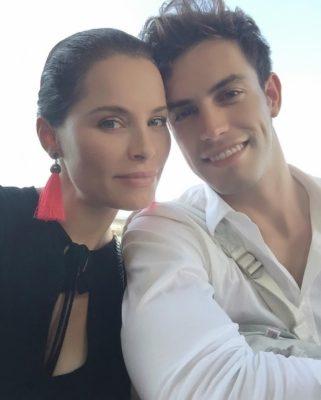 Soraya Arnelas y novio