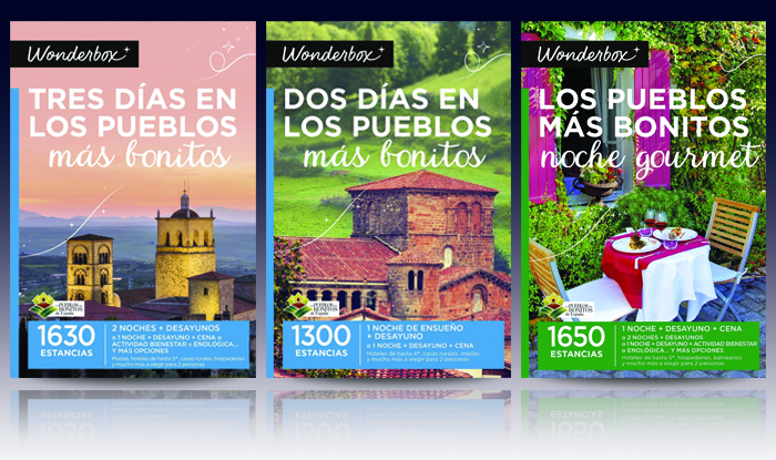 Disfruta de los pueblos más bonitos de España con los cofres de Wonderbox