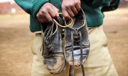 Una muestra de zapatos con mucha historia