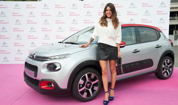 Laura Matamoros, a todo gas con el Citroën C3