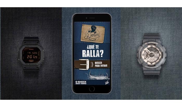 Denim Coach: la nueva App de G-Shock para los espíritus jóvenes
