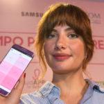 Miriam Giovanelli amadrina una app para la detección precoz del cáncer de mama