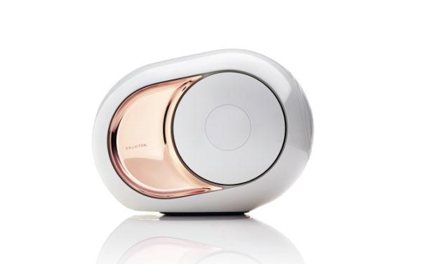 Con el altavoz inalámbrico Gold Phantom tendrás el mejor sonido del mundo