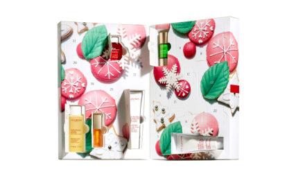 Abre una ventana a la belleza con el calendario de adviento de Clarins