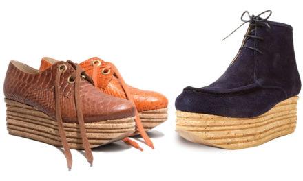 ¡Las plataformas de corcho también son para el invierno!