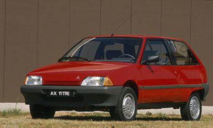 El Citroën AX cumple 30 años y su filosofía permanece