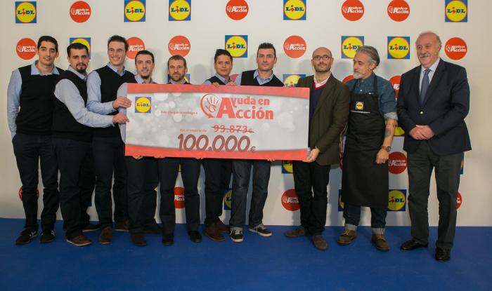 Lidl dona 100.000€ a Ayuda en Acción