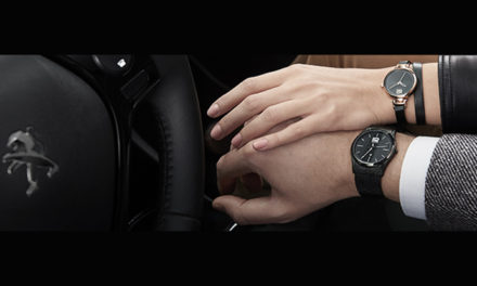 Con la nueva colección de relojes Peugeot, elegancia y estilo al volante