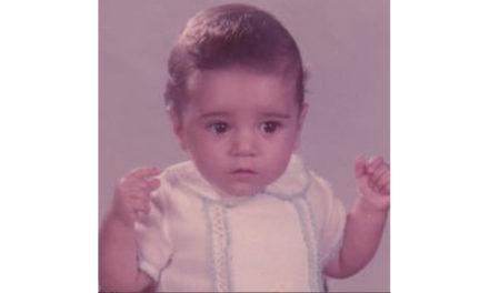 ¿Quién es este precioso bebé que hoy cumple 35 años?