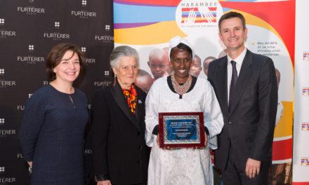 René Furterer apoya a la mujer africana