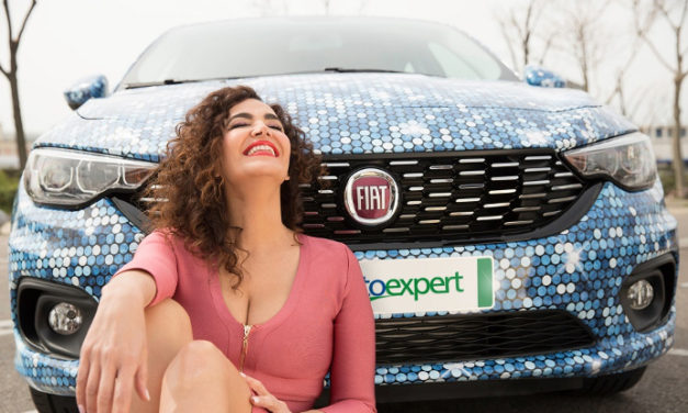 La estilista de cine y televisión Cristina Rodríguez diseña su propio Fiat Tipo