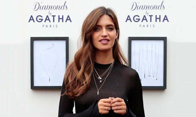 Sara Carbonero presenta la colección 'Diamonds' by Agatha Paris
