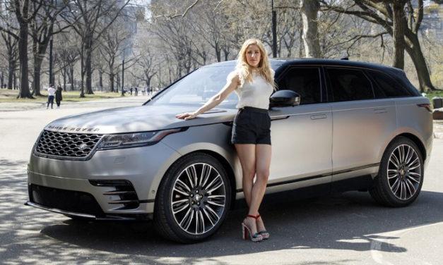 Ellie Goulding conduce el nuevo Range Rover Velar en Nueva York