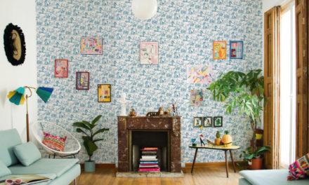 Descubre el renacer del papel pintado