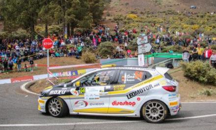 Trofeo Clio R3T en Canarias: triunfo del piloto asturiano Fran Cima