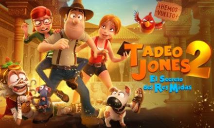 Tadeo Jones vuelve con más aventuras