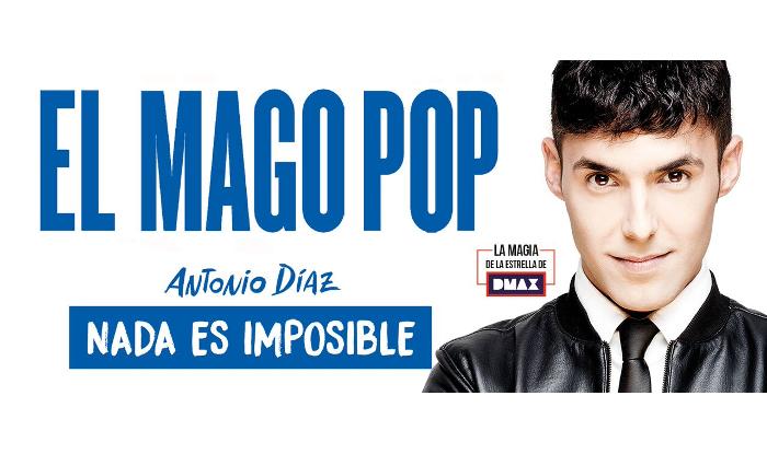 'Nada es imposible' para el fantástico Antonio Díaz, El Mago Pop