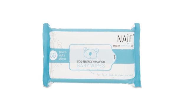 Las toallitas Naïf miman la piel del bebé