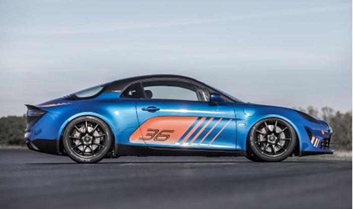 Alpine A110 cup: un auténtico vehículo de alta competición