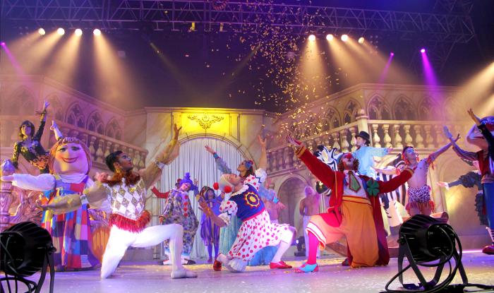 Galtük une circo, teatro y danza