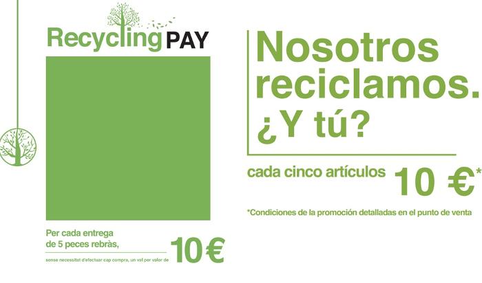 Intimissimi y su campaña 'Reciclar conviene'