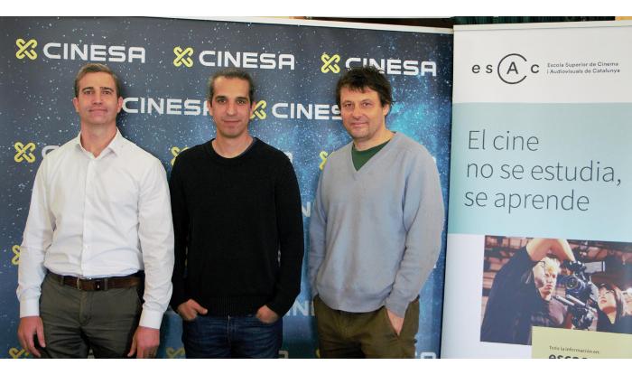 Cinesa y ESCAC, con los nuevos talentos