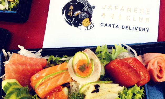 Los platos del restaurante Japanese Club, también en casa