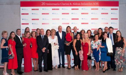 Clarins, 20 años junto a Aldeas Infantiles SOS