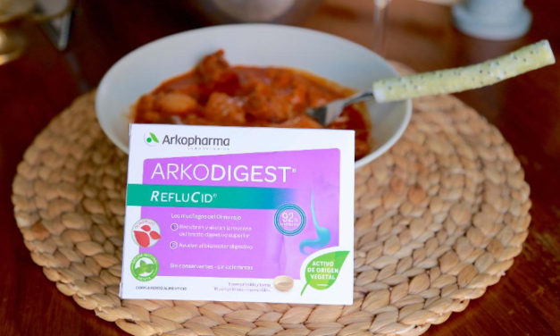 Di adiós a la acidez de estómago stas fiestas con Arkodigest Reflucid